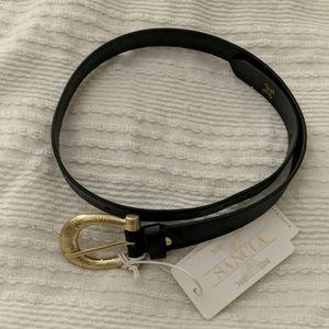 Sancia Sophia belt in black